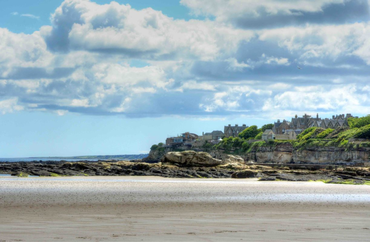 West Sands Beach in St. Andrews